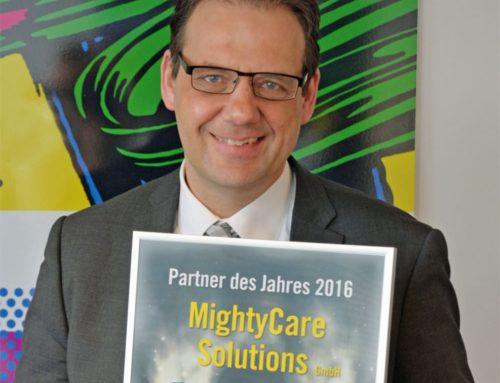 MightyCare Solutions ist Partner des Jahres