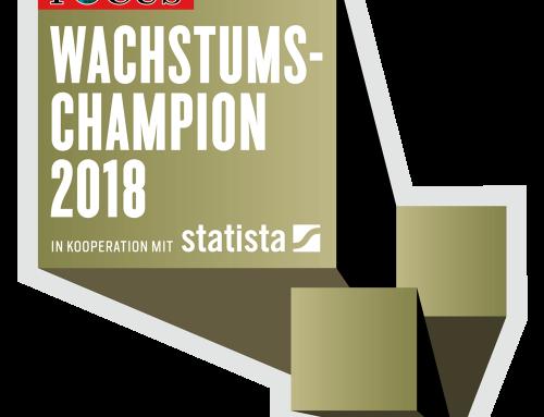 MightyCare Solutions ist ein Wachstumschampion 2018