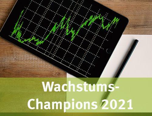 Focus-Business & Statista küren uns erneut: Wachstums-Champions 2021
