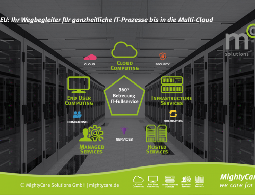 IT Full Service: Frankfurter Cloud Provider und RZ Betreiber wusys & MightyCare werden eins