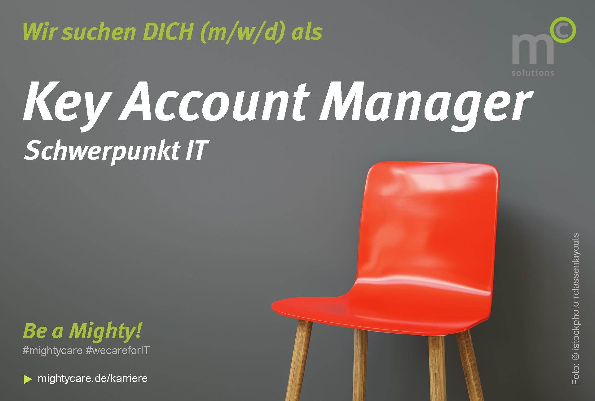 Stellenanzeige Key Account Manager Schwerpunkt IT