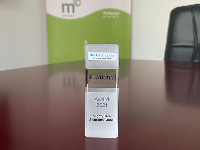 MightyCare als Dell Platinum Partner ausgezeichnet
