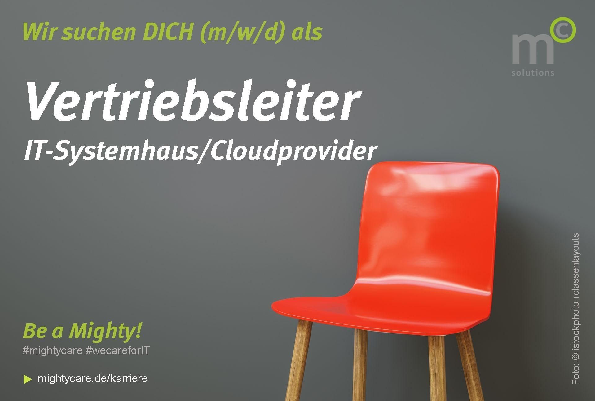 Vertriebsleiter (m/w/d) IT Systemhaus Cloudprovider remote Job